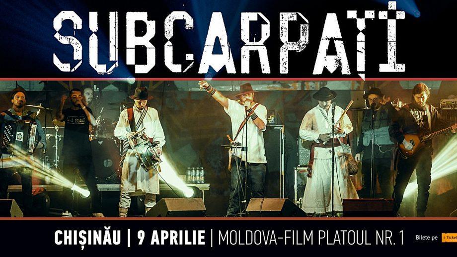 Subcarpați revine la Chișinău cu un concert și o producție specială. De unde poți procura bilete și cât costă acestea
