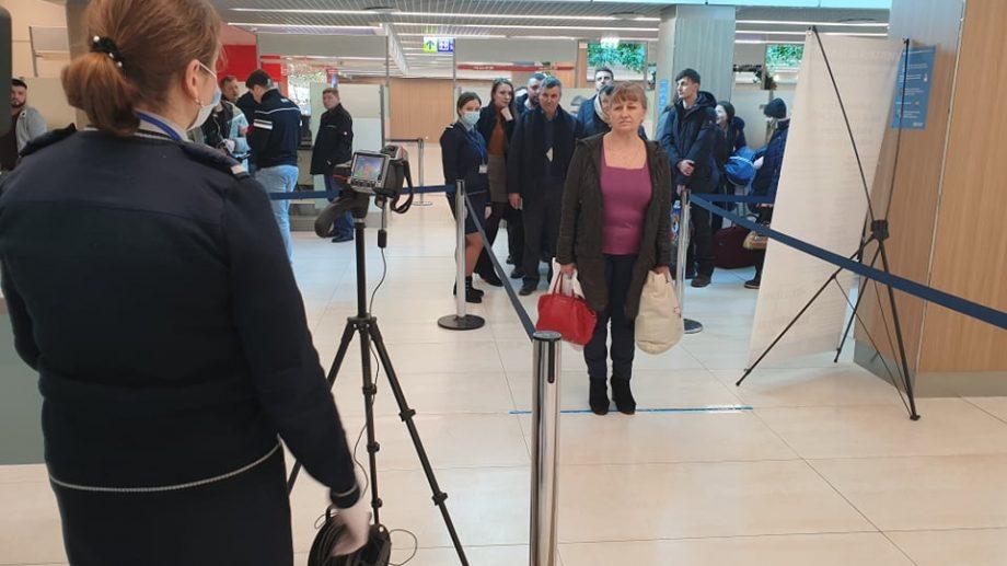 Aeroportul Internațional Chișinău a luat măsuri de dezinfectare a bagajelor și pasagerilor care vin din Italia
