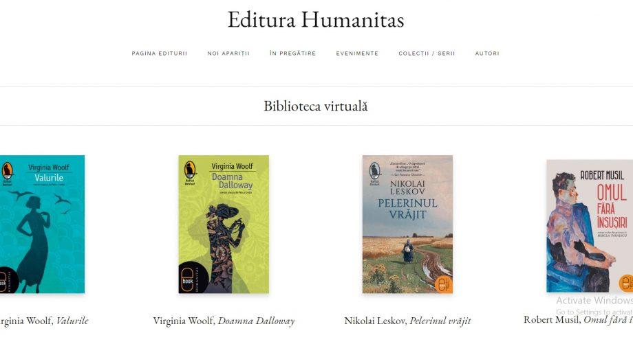 Descoperă lumea virtuală a cărților și lecturează gratuit peste 50 de opere literare