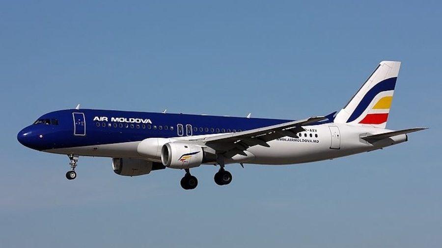 Air Moldova suspendă toate zborurile companiei pentru perioada stării de urgență