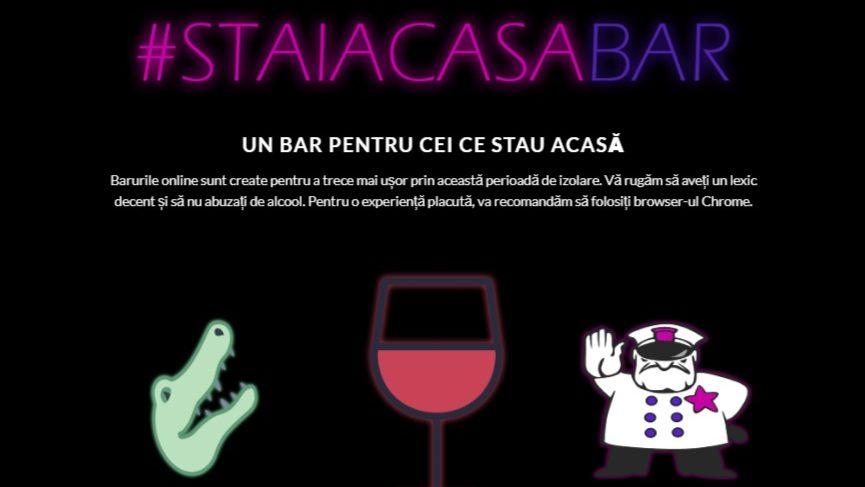 Ieși cu prietenii la un bar online. Localul virtual poate fi închiriat gratuit și pentru nunți sau cumetrii