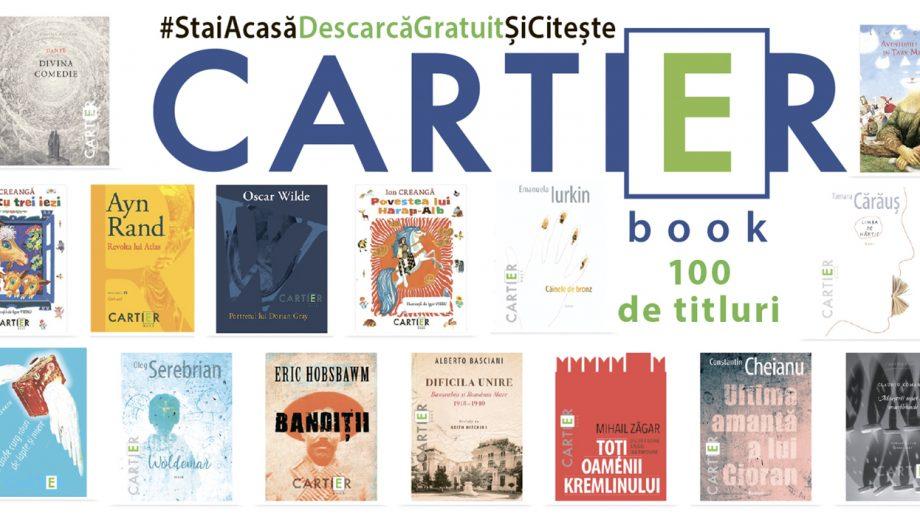 Timp de o lună, iubitorii de lectură pot descărca gratuit o sută de eBook-uri Cartier