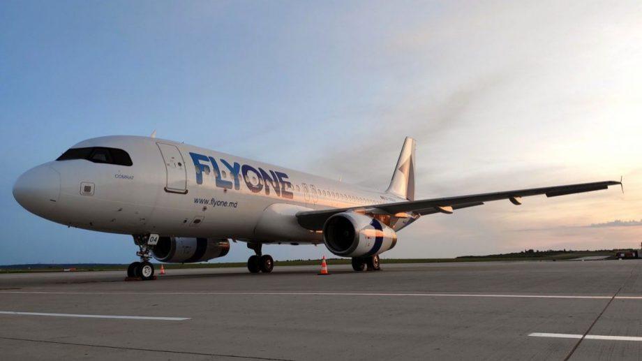 """Compania """"Fly One"""", amendată cu 50 000 de lei pentru că a adus în Moldova doi cetățeni ai Ucrainei"""
