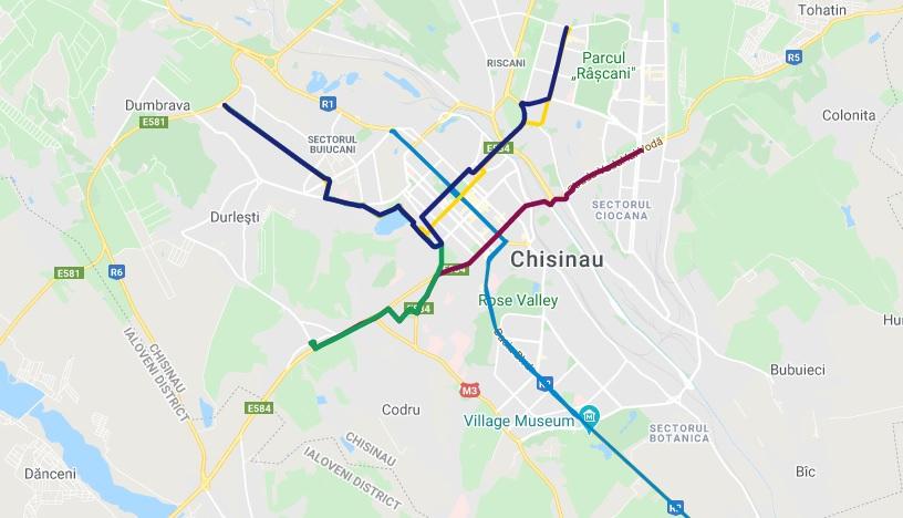 Harta Care ți Arată Traseele Sigure Pentru Deplasarea Cu Bicicleta