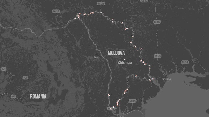 Harta Pe Care Puteți Să Urmăriți In Timp Real Punctele Vamale și