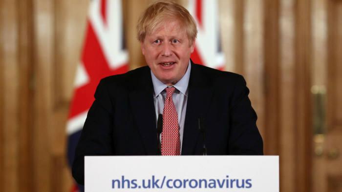 (video) Prim-ministrul Marii Britanii, Boris Johnson, a fost testat pozitiv cu noul coronavirus