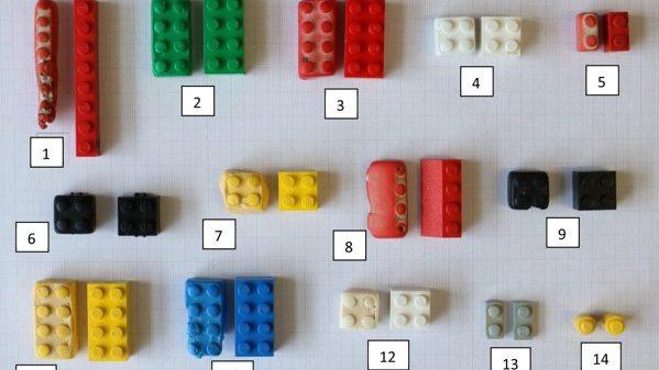 Piesele Lego aruncate în oceane nu se vor dezintegra pentru mai bine de 1.000 de ani
