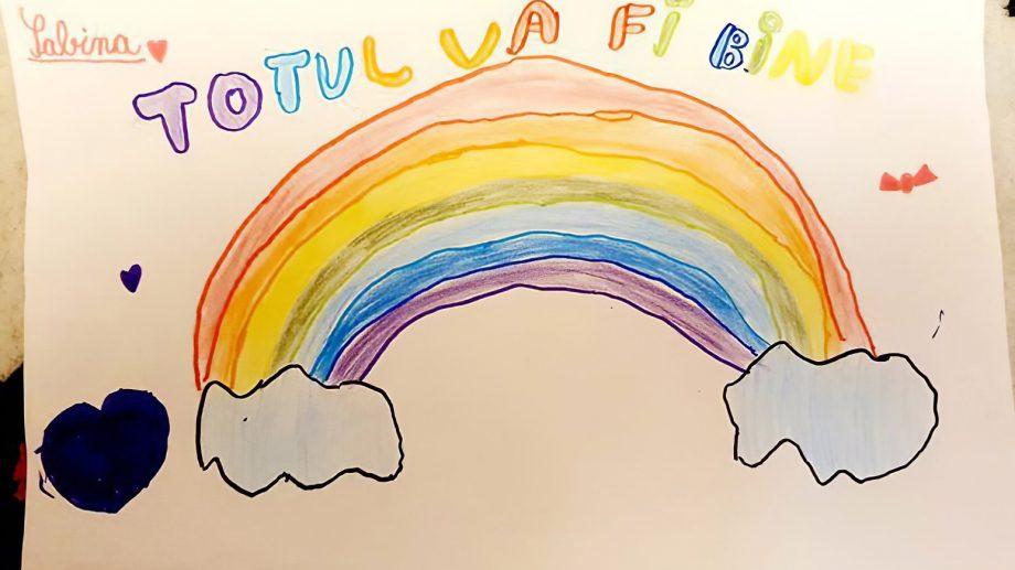 """""""Totul va fi bine!"""" Municipalitatea anunță un concurs de desene pentru elevi și preșcolari"""