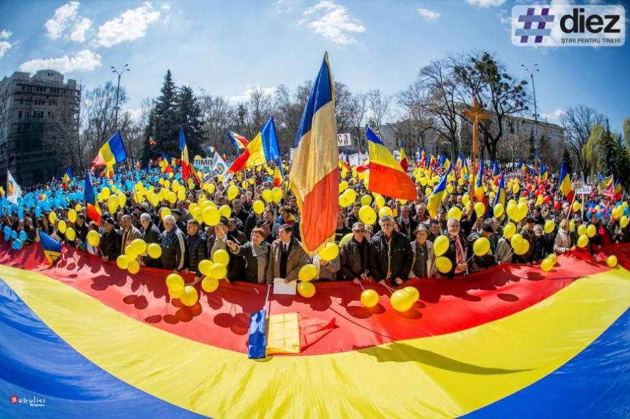 Tradiționalul marș al unirii din 27 martie se mută în mediul online. Cum poți participa și tu