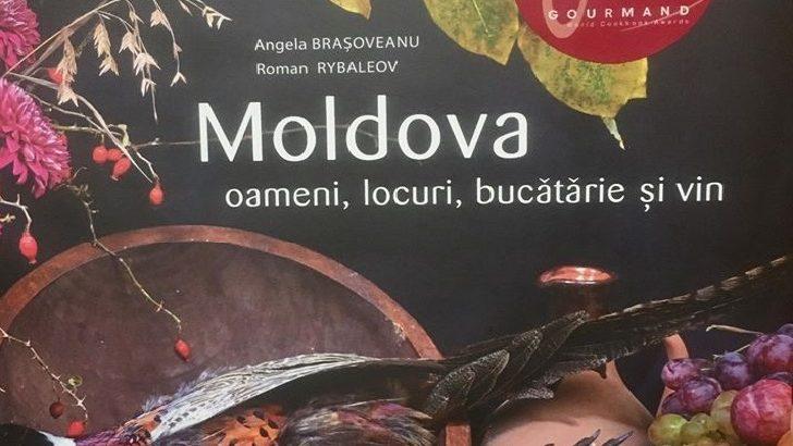 """Albumul """"Moldova: oameni, locuri, bucătărie și vin"""" a intratîn top 3 pentru Premiile Gourmand World Cookbook, Paris 2020"""