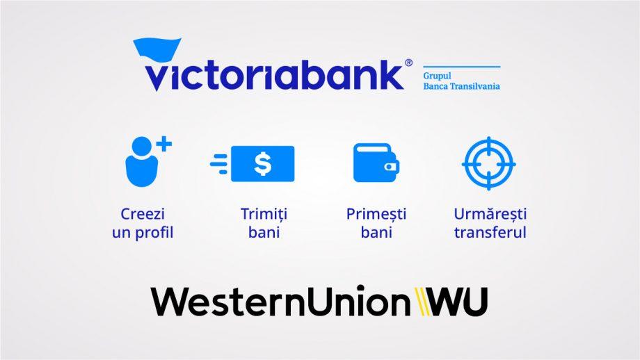 Western Union lansează, în parteneriat cu Victoriabank, prima platformă online de transferuri internaționale