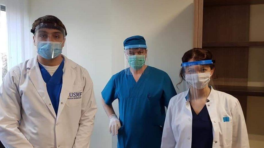 Mai mulți studenți ai USMF oferă voluntar ajutor personalului medical în lupta cu coronavirusul