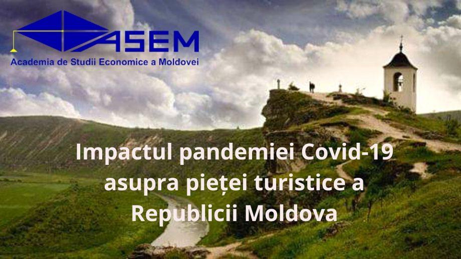 Impactul pandemiei de COVID-19 asupra pieței turistice din Republica Moldova. ASEM vine cu recomandări