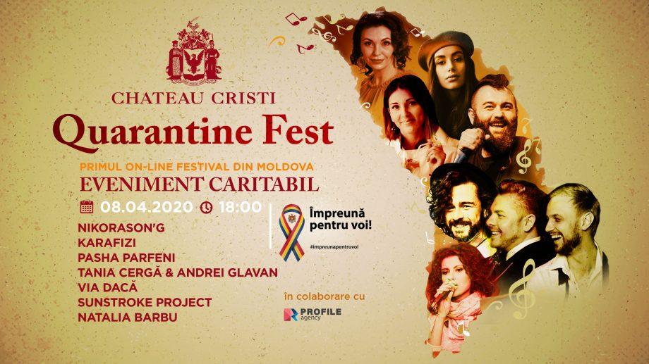 Quarantine Fest – primul festival caritabil online din Moldova. Când va avea loc și ce artiști vor evolua
