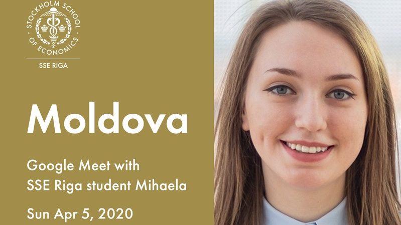 O tânără din Moldova organizează un webinar despre experiența sa de studii la SSE Riga. Cum poți participa