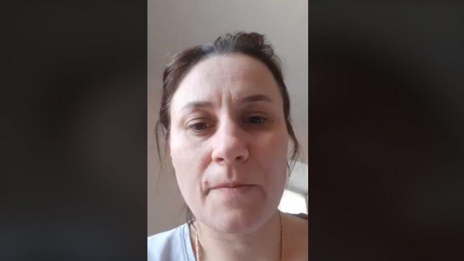 """(video) O pacientă infectată cu COVID-19, despre condițiile de la spitalul din Soroca: """"Nu avem gram de apă caldă, măcar să ne spălăm"""""""