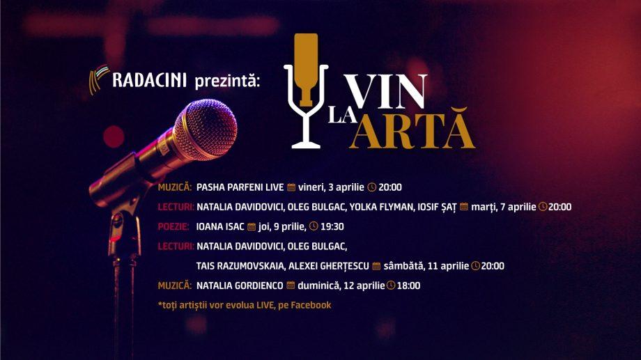 Vinăria Radacini a lansat seria de evenimente VIN LA ARTĂ. Ce program artistic presupun acestea