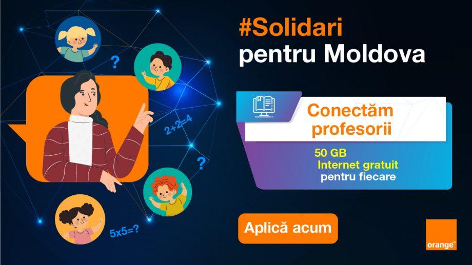 Orange oferă internet gratuit profesorilor care au acces limitat, pentru a-și continua orele online