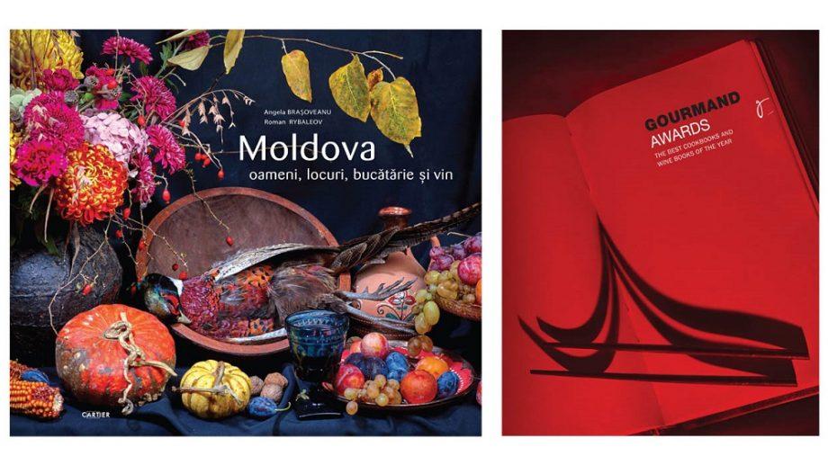 """""""Moldova: oameni, locuri, bucătărie și vin"""", de Angela Brașoveanu și Roman Rybaleov, a luat primul loc la Gourmand World Cookbook Awards 2020"""