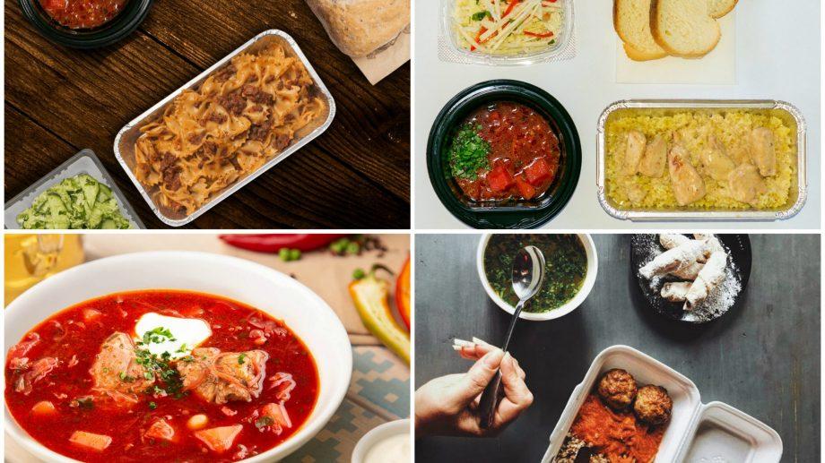 Best of: localurile din Chișinău care fac livrări de lunch la domiciliu