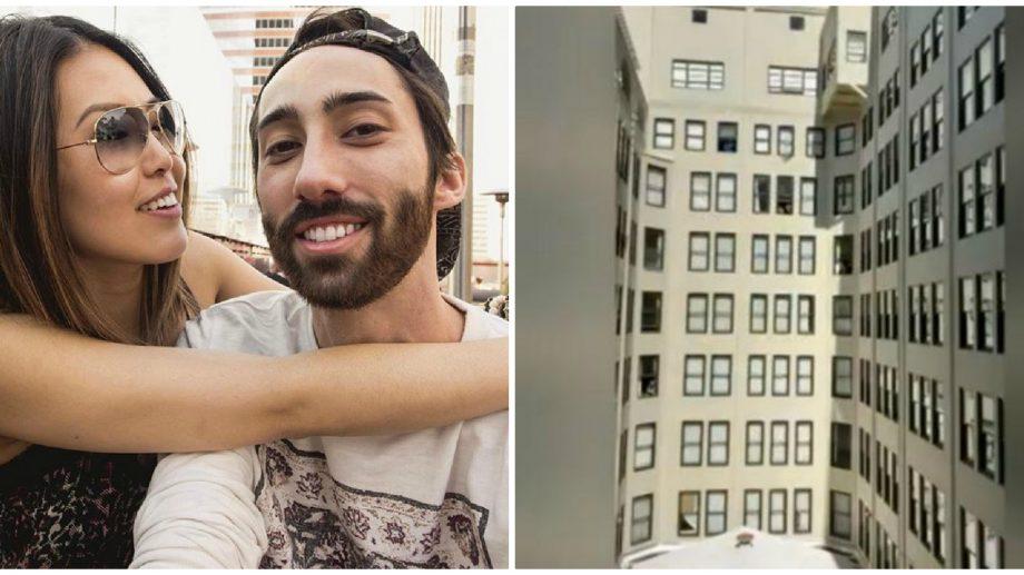 """(video) Zeci de oameni izolați în casă i-au cântat """"La mulți ani"""" unui vecin de ziua lui"""
