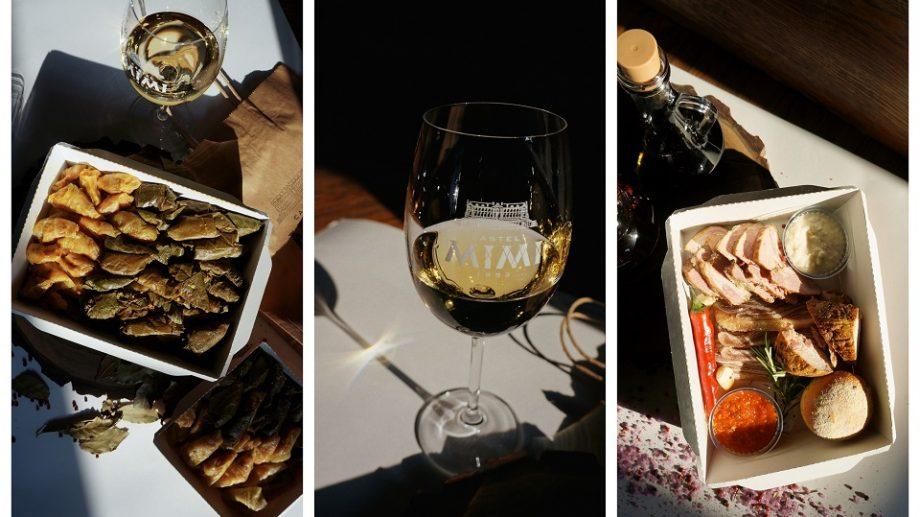 """Castel Mimi lansează cel mai curios meniu cu livrare. Acesta include vin, bucate """"aproape gata"""" gătite à la carte, dar și dezinfectant pentru mâini"""