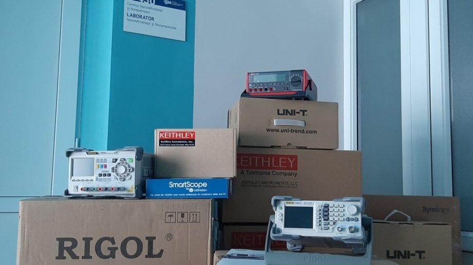 Universitatea Tehnică a Moldovei a primit echipament în valoare de 1 milion de lei în cadrul proiectului AMOXES