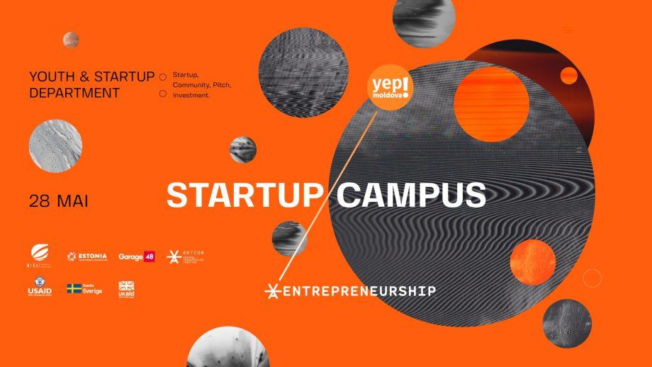 Ești tânăr interesat de startup-uri? Artcor și Yep!Moldova te invită la cea de-a treia ediție a conferinței internaționale Startup Campus