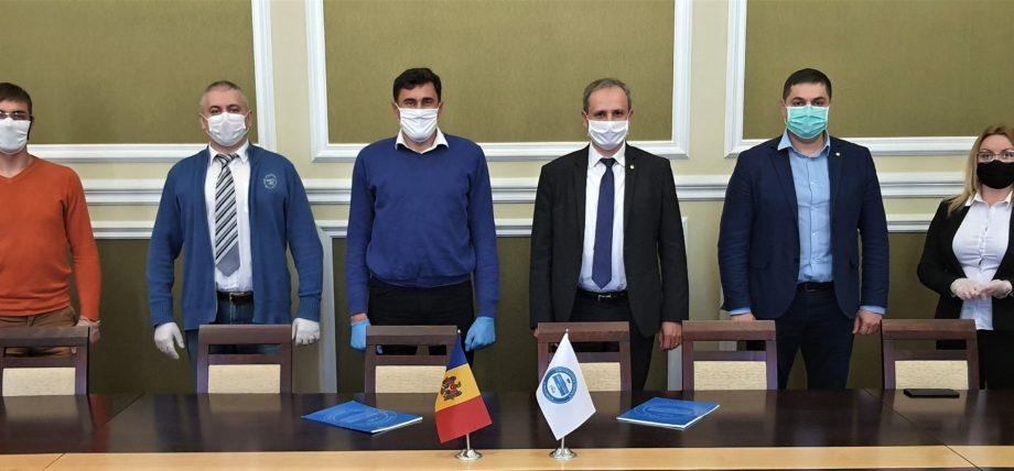 Universitatea Tehnică a Moldovei a semnat un acord de colaborare cu Primăria orașului Căușeni