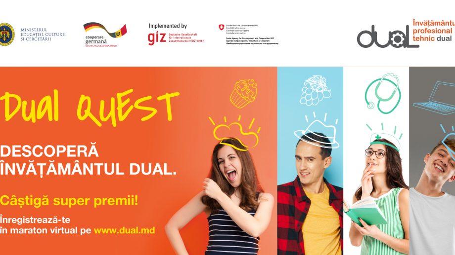 """Elevii claselor gimnaziale și liceale se pot înscrie la primul maraton educațional din țară """"Dual Quest"""""""
