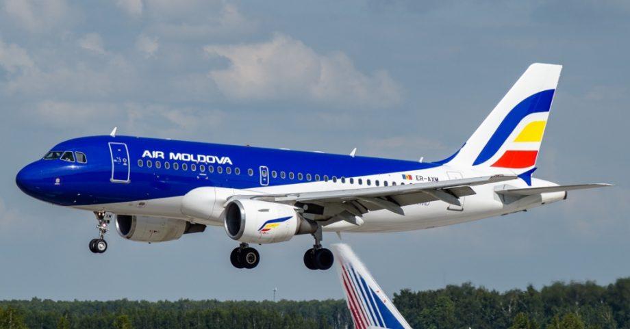 Compania aeriană Air Moldova va opera mai multe zboruri pe sensurile de intrare și ieșire din țară în următoarele zile
