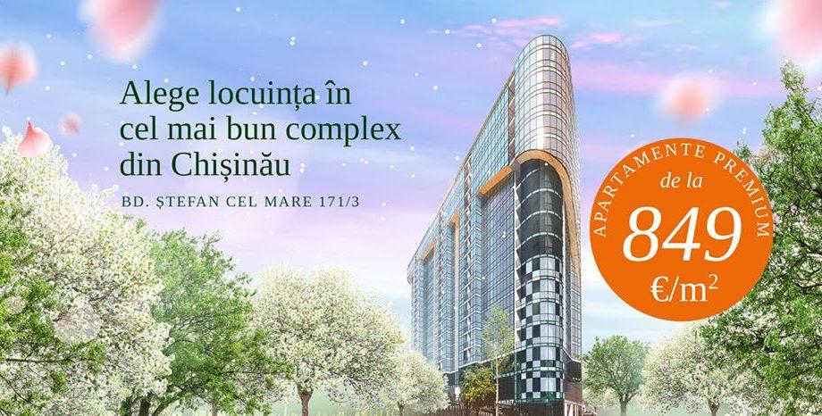 Solomon Dendrarium – cel mai bun complex din Chișinău! Peste 60 % dintre apartamente vândute