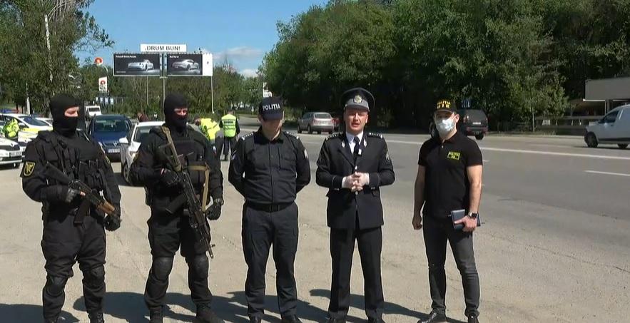 """(video) """"Vom fi peste tot și asta este la propriu, nu la figurat."""" Poliția va patrula 10 zile non-stop drumurile"""