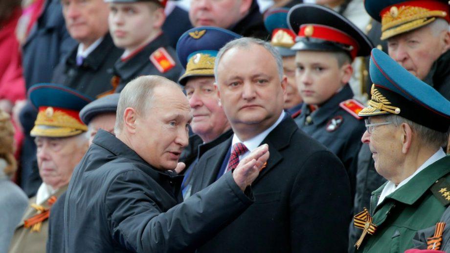 """Igor Dodon: """"La sigur voi participala parada militară de Ziua Victoriei din Rusia"""""""