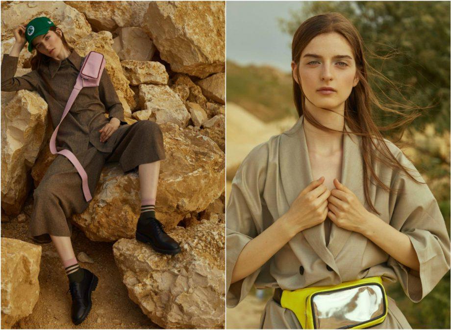 Tânăra modelă din Chișinău Xenia Budeanu a apărut pe coperta revistei Elle România