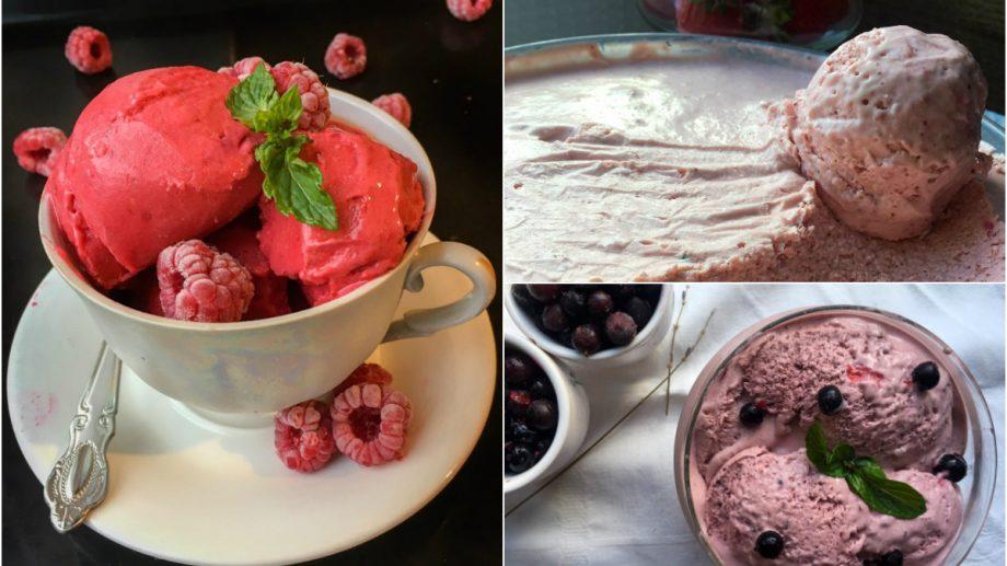 (foto) Cantina din carantină. Trei tipuri de înghețată pe care să le faci rapid acasă