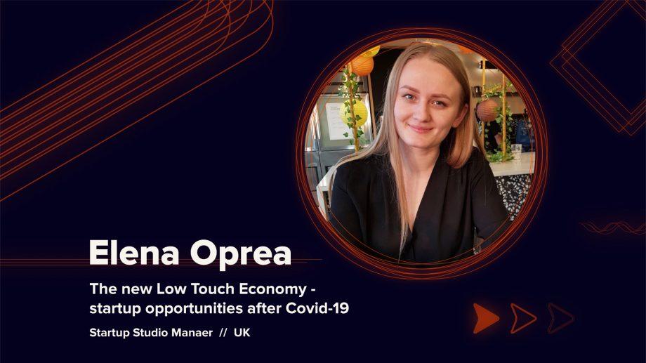 Elena Oprea a prezentat oportunități pentru startup-uri după criza COVID-19 la Rockit Conference