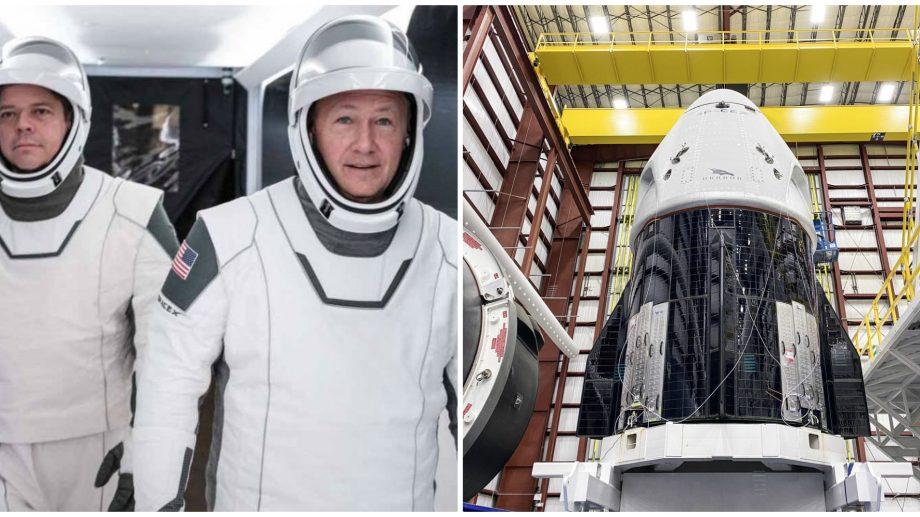 (foto) După 10 ani de pauză, NASA împreună cu SpaceX se pregătesc de o nouă lansare a astronauților în spațiu