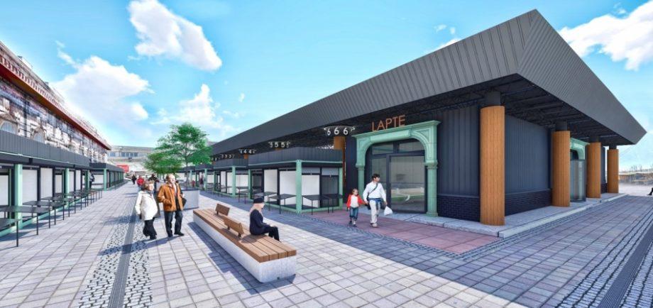 (foto, doc) Piața Centrală va avea o parcare și comerțul va fi repartizat pe sectoare. Cum arată conceptul de modernizare