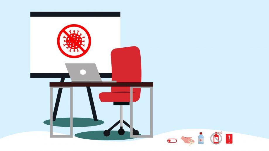 Cum dezinfectăm suprafețele dispozitivelor electronice de la birou. Sfaturi de la specialiști