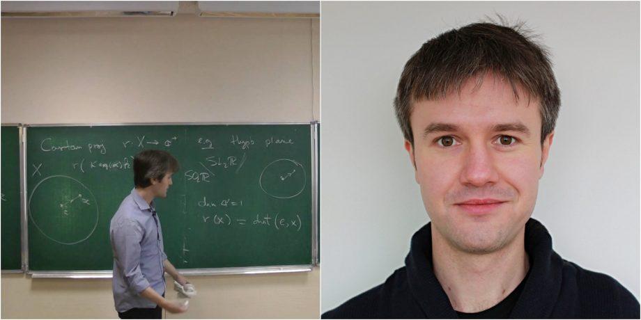 Un matematician din Moldova, profesor la Universitatea din Chicago, a devenit laureat al premiului Societății Europene de Matematică