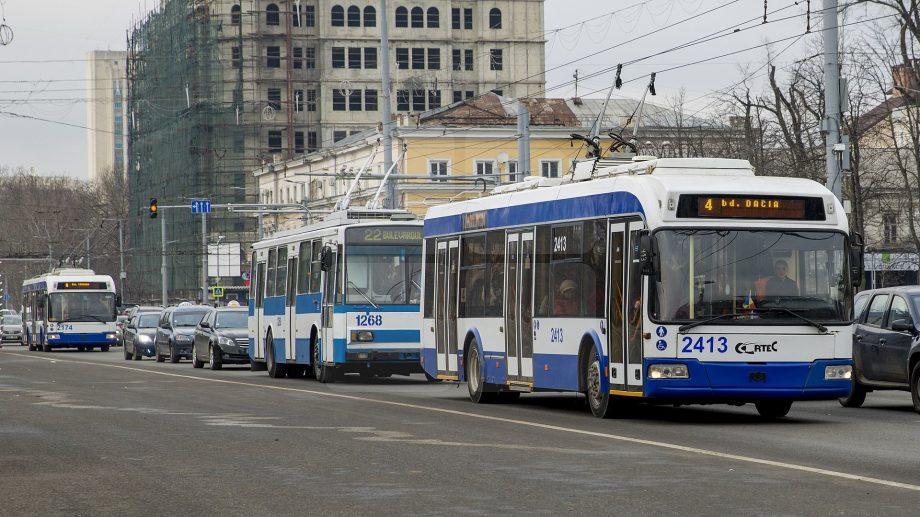Transportul public din Chișinău va circula în regim normal și în zilele de weekend