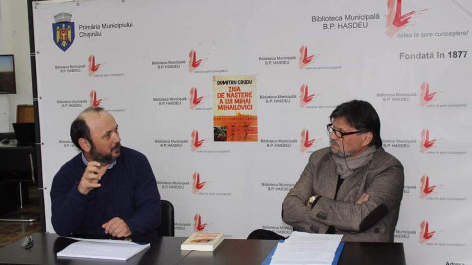 """Dialog online cu scriitorul Dumitru Crudu, autorul romanului """"Ziua de naștere a lui Mihai Mihailovici"""""""