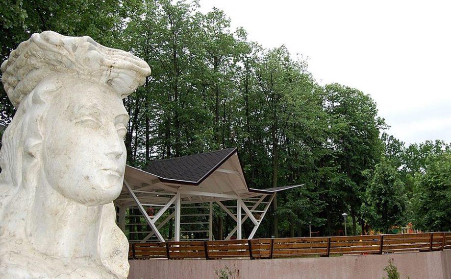 """(foto) Parcul Central din Ungheni fost redenumit """"Micul Cluj"""". E un semn de gratitudine pentru orașul din România"""
