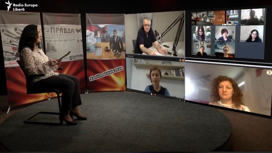 """(foto, video) """"Televiziunea publică avea secțiune de propagandă."""" Despre dezinformare, propagandă și fake-uri în perioadele de criză"""