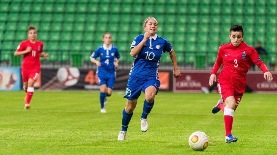 Carolina Țabur va juca pentru campioana României. Fotbalista din Moldova a semnat un contract pentru o perioadă de doi ani