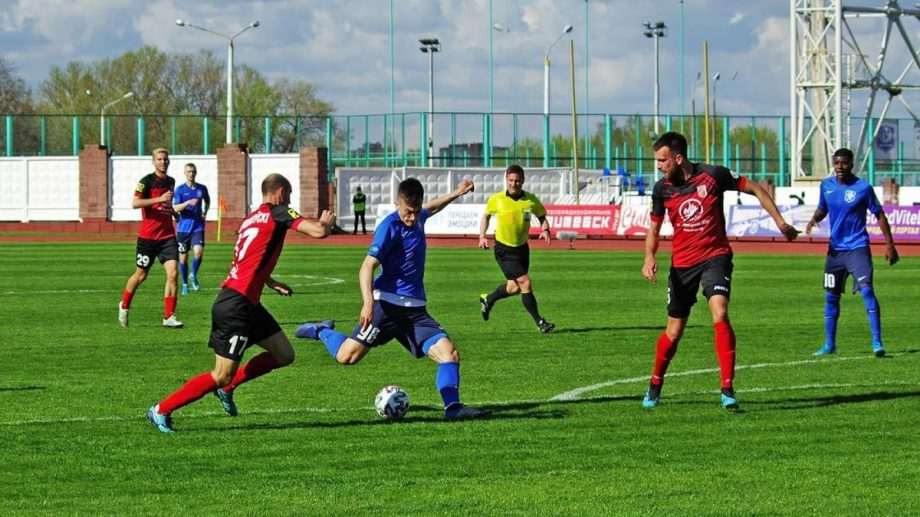 Fotbalistul moldovean Ion Nicolaescu, printre cei mai buni în campionatul Belarusului