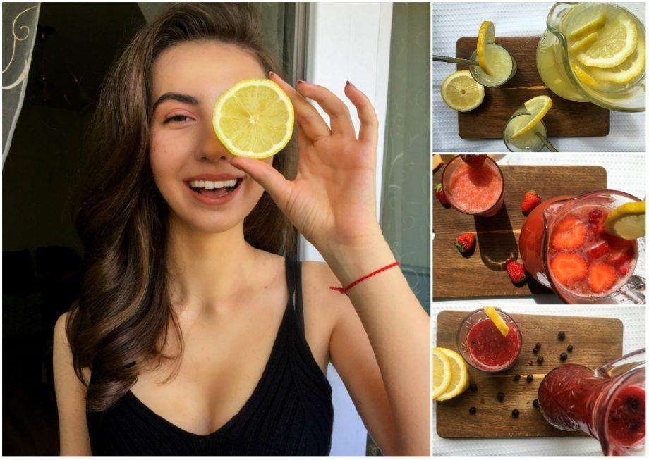 Cantina din weekend. Trei tipuri de limonadă pe care să le faci acasă într-o zi de vară