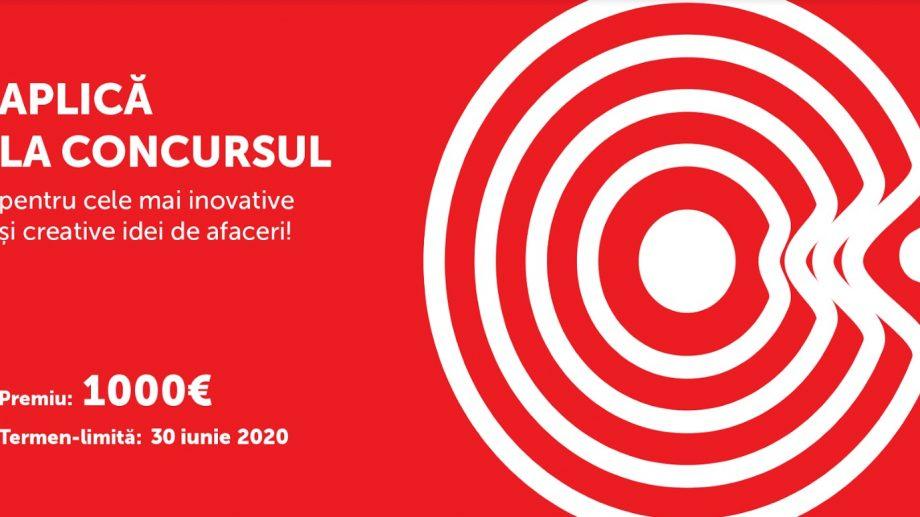 Participă la concursul pentru cele mai inovative și creative idei de afaceri și câștigă 1 000 de euro