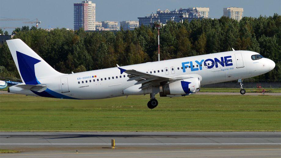Compania FLyOne reia cursele regulate și charter din 1 iulie. Care sunt cele 14 destinații